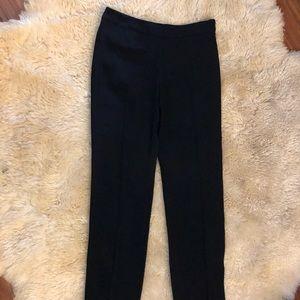 Armani collezioni woman's black slacks